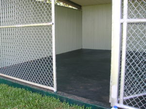 Animal Enclosure Protected with Tufflon