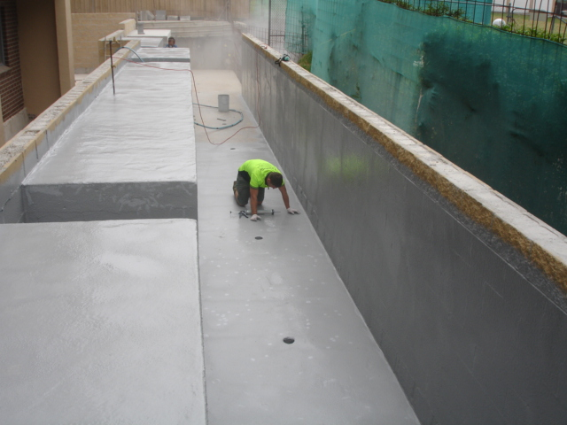 Water Feature Waterproofing Polyurea Elaston