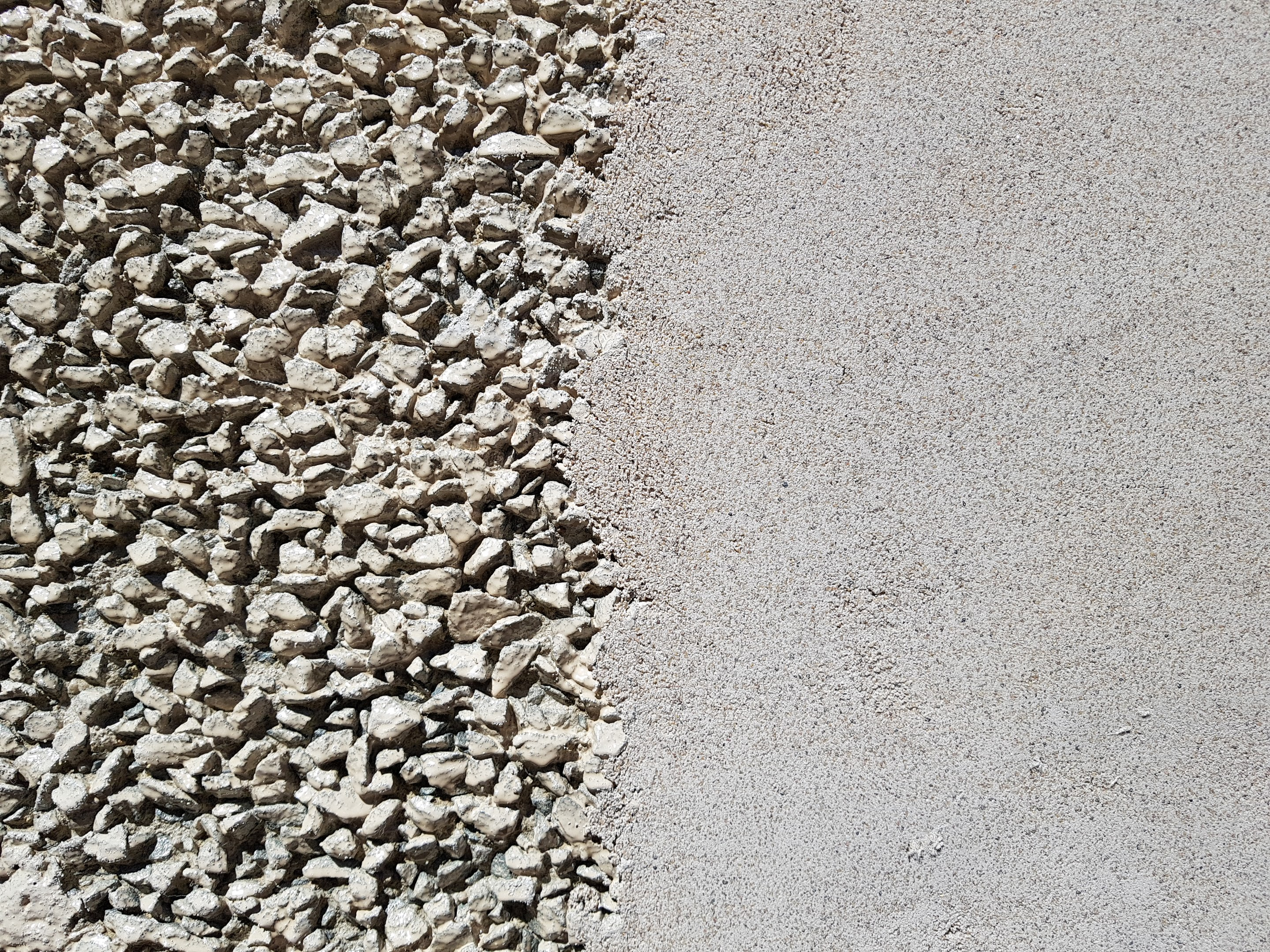 WTP Exposed Aggregate resurfaced with Civilox-18 and Renderfill