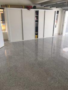 Opalon-F90 Polyaspartic Flooring Garage