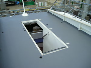 Marine Applications for Tufflon Catamaran Decking