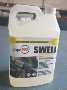 Swell Solvent