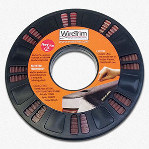 Wire trim tape