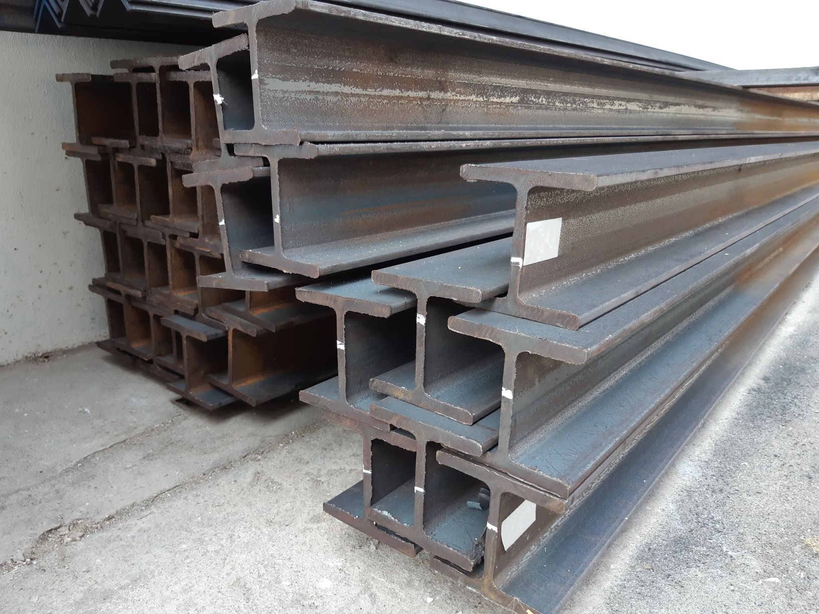Steel Beams Corrosion