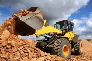 Steel Digger Truck Mining Industry