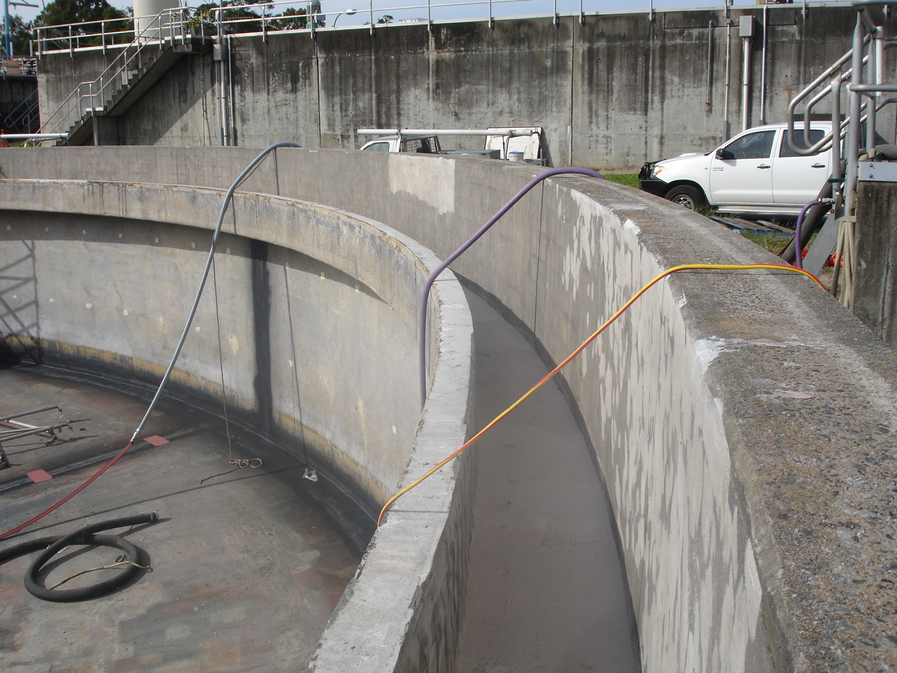 Wastewater Treatment Plant Launder Channel