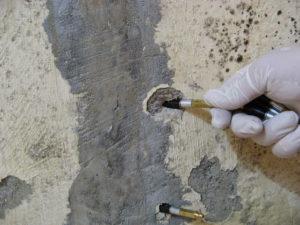 Concrete leak crack repair injection packers