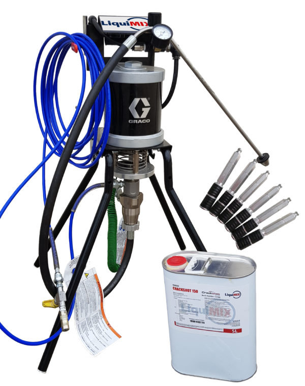 Crackshot Pack Concrete Leak Repair Pack