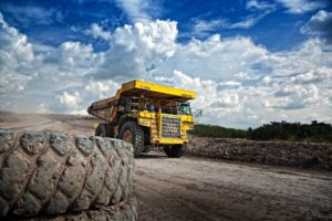 Truck mining industry tipper impact and abrasion and corrosion resistance