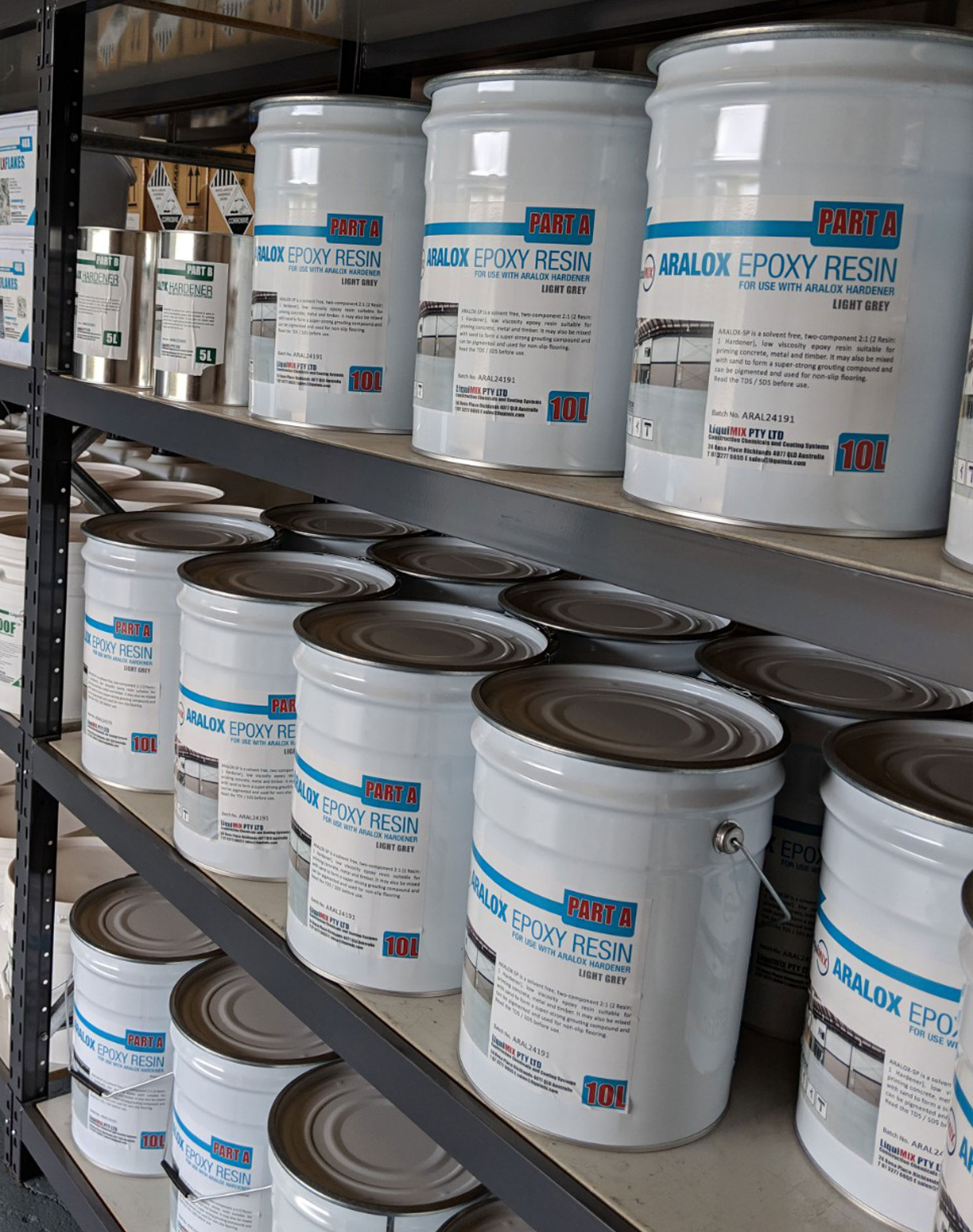 Aralox Epoxy Flooring Resin