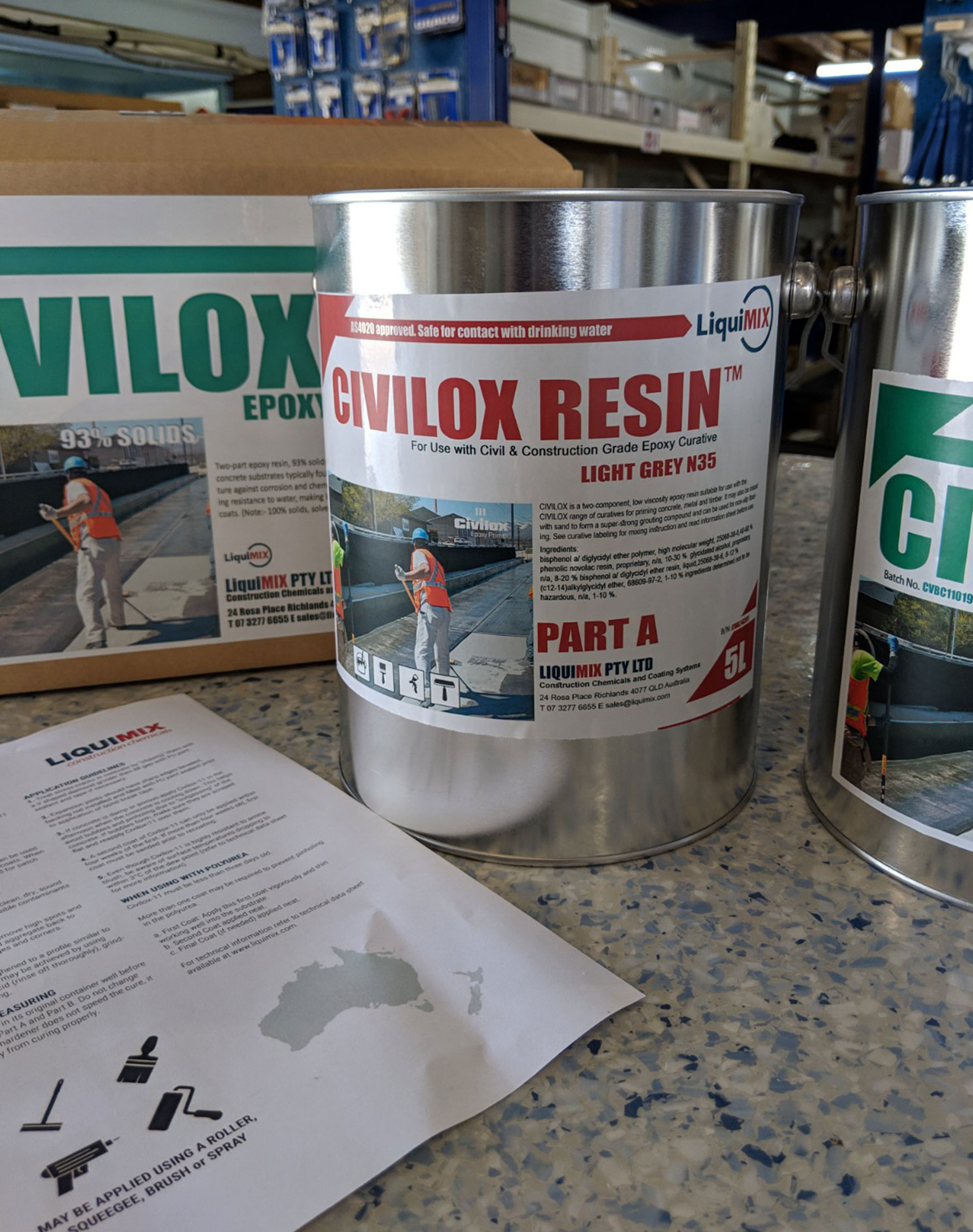 Civilox-11-Box Kit Epoxy Civil Grade