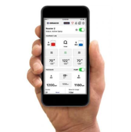 Graco Reactor Monitoring App InSite