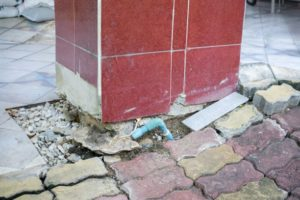 Ground Engineering Subsidence Sinking Ground Unlevel Buildings