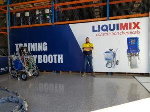 LiquiMix Training Graco Equipment Australia