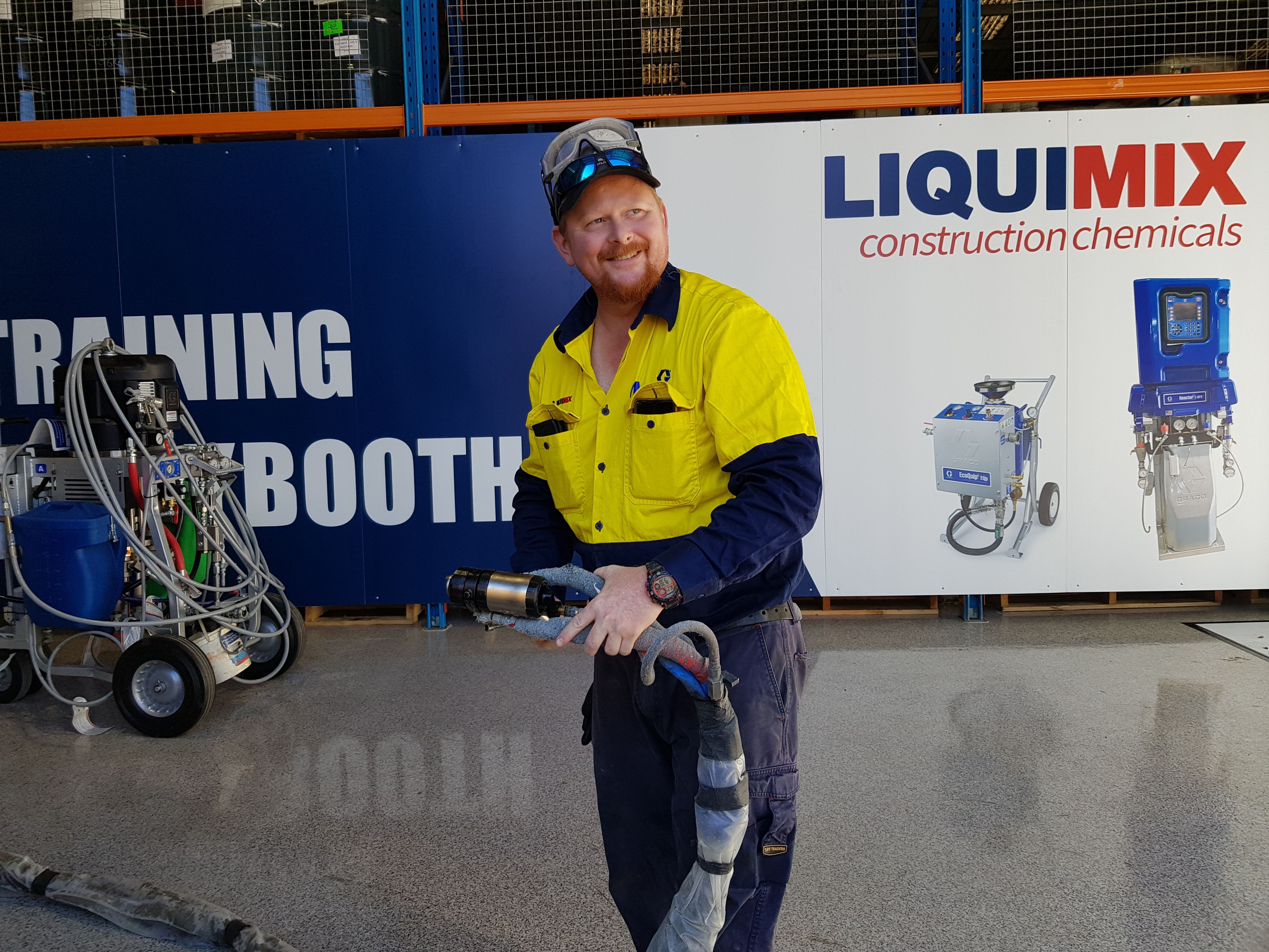 Training Graco Reactor Brisbane Australia