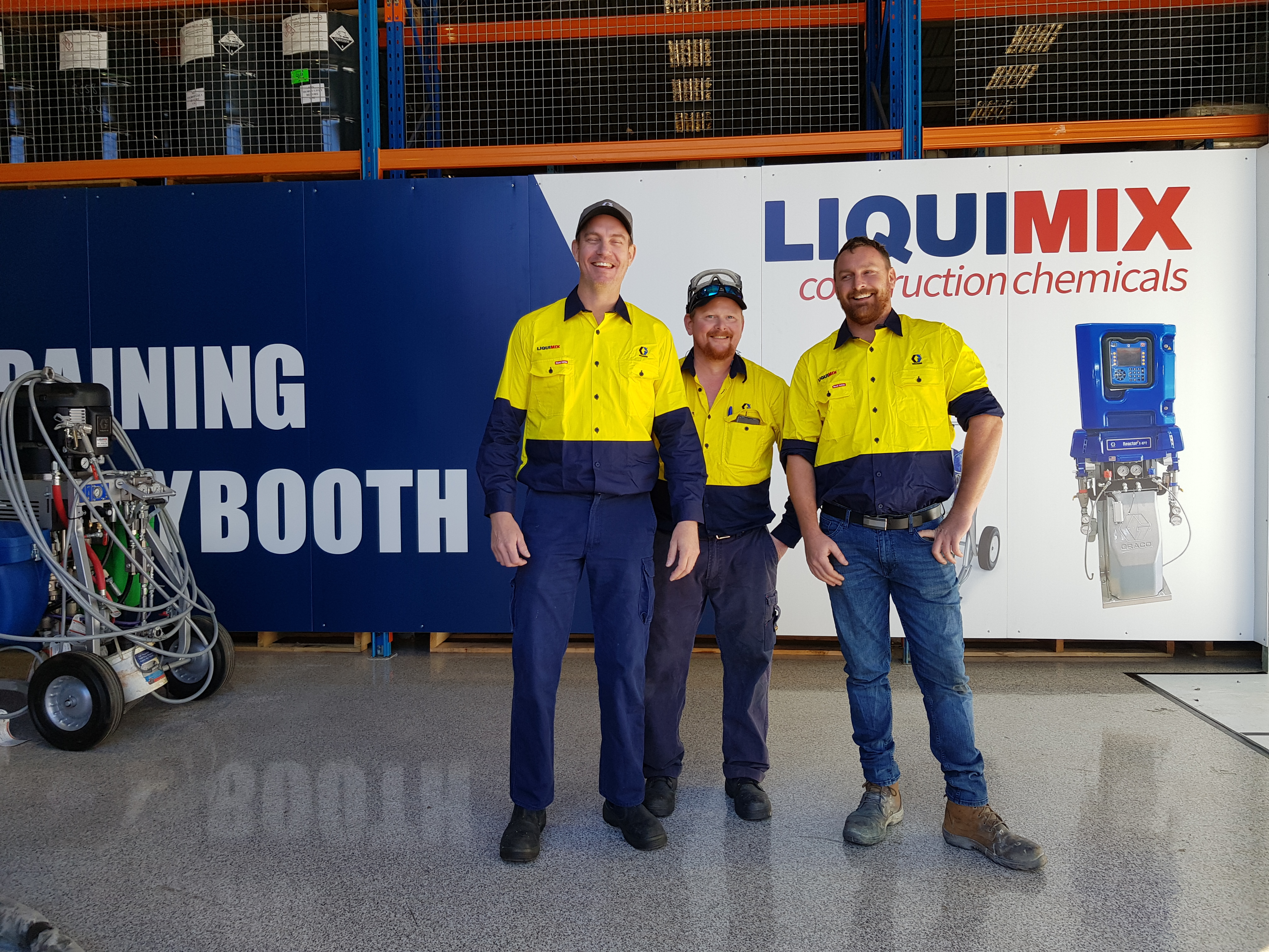 Training events LiquiMix Graco Reactor Training Australia