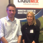 Bryant Wells (Technical Manager) and Holly Robinson (Marketing Manager) of LiquiMix