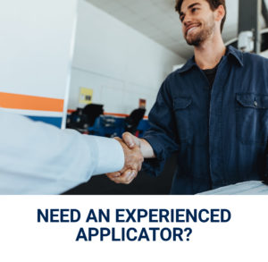 Let us help you find an experienced applicator for your needs