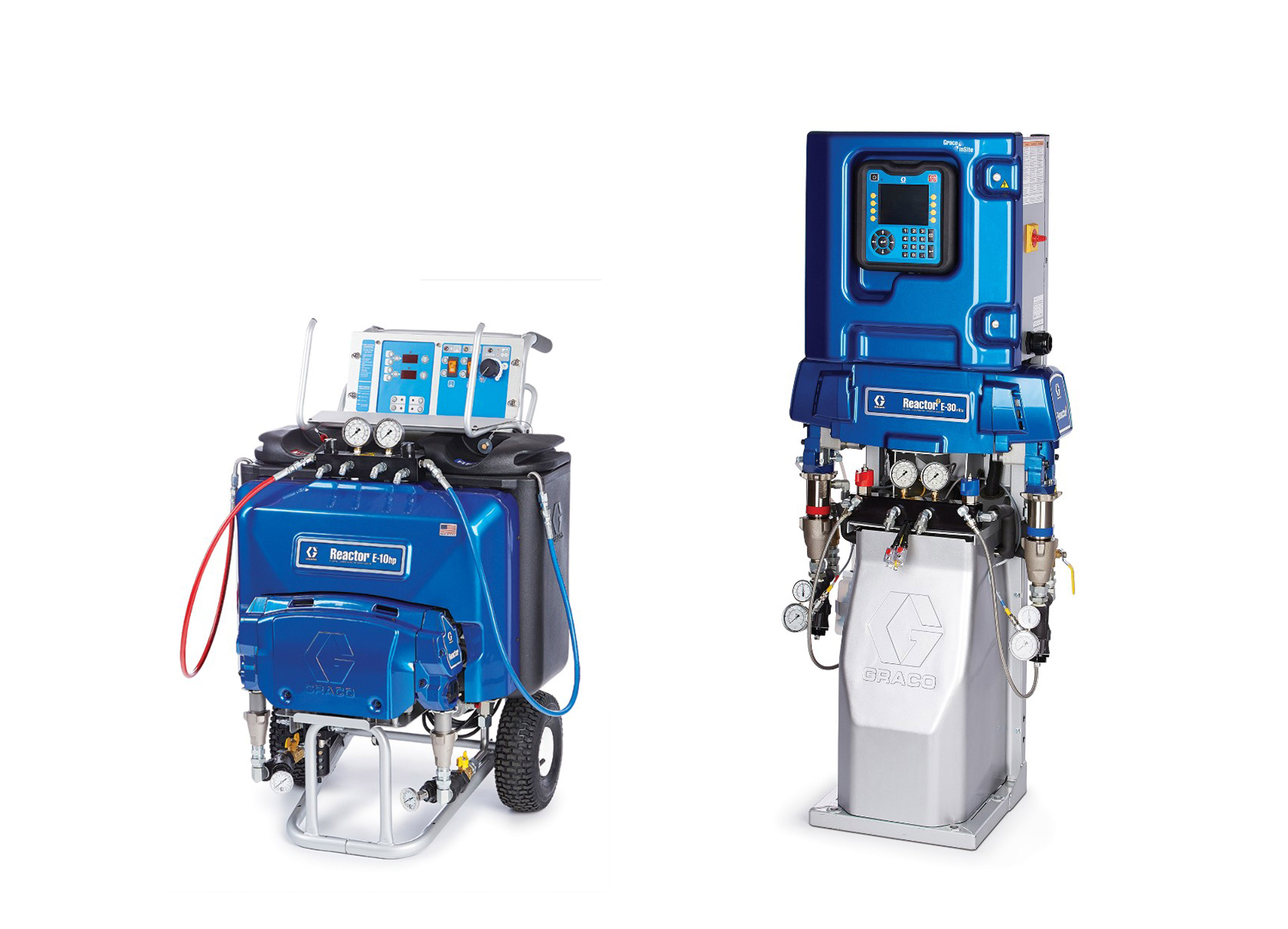 Graco Reactors - Plural Equipment for Polyurea and Foam
