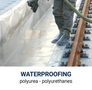 LiquiMix Waterproofing Options Polyurea and Polyurethane