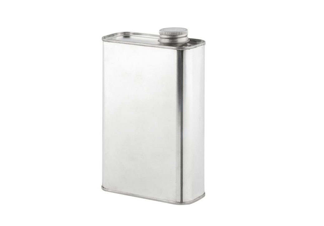 Tin Pail Rectangular